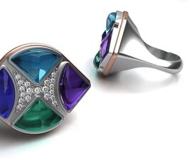 Joseph Charles Fine Jewelry x Borgia, INC. Fine Art