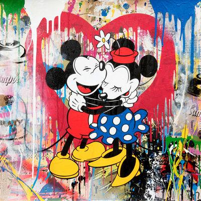 Mr. Brainwash, 'Mickey & Minnie', 2018