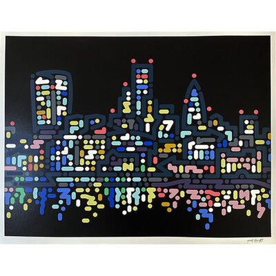 Yoon Hyup, 'Thames Lights', 2020