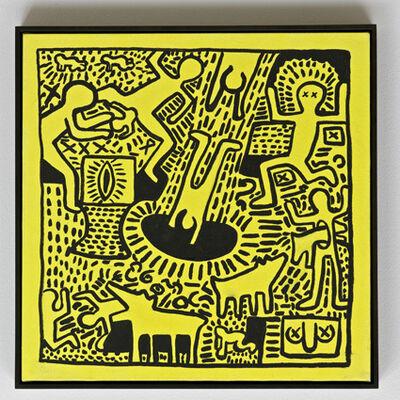 Sturtevant, 'Haring Untitled ', 1986
