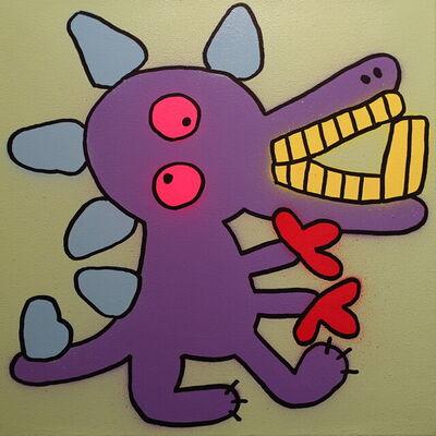 Bortusk Leer, 'Dino Monster', 2021