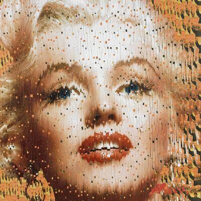 David Mach, 'Marilyn', 2017