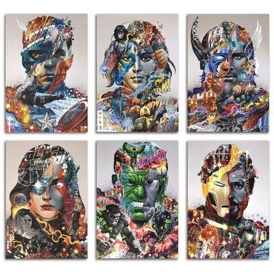 Tristan Eaton, 'The Avengers (Set)', 2021