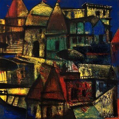 Paresh Maity, 'City of Light', 2015