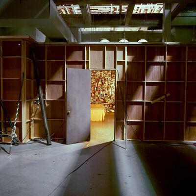 John Divola, '(X28F10) Haye's Death Room, Exterior Room - Stage 6', 2002