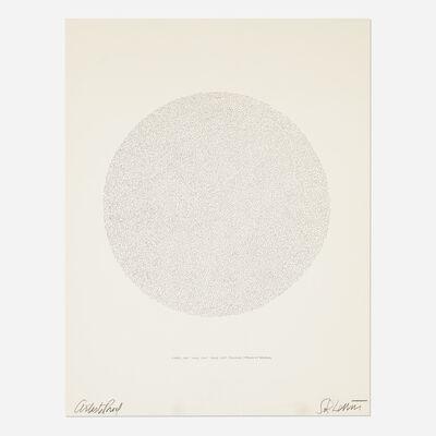 Sol LeWitt, 'Lines, Not Long, Not Heavy, Not Touching, Drawn at Random (Circle)', 1970