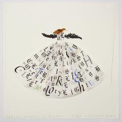Lesley Dill, 'Hummingbird Dress', 2013