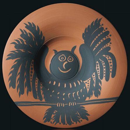 Pablo Picasso, 'Hibou aux ailes déployées (Owl with spread wings)', 1957
