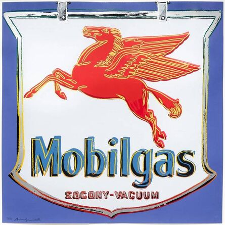 Andy Warhol, 'Mobilgas', 1985