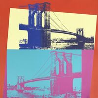 Andy Warhol, 'Brooklyn Bridge, II.290', 1983