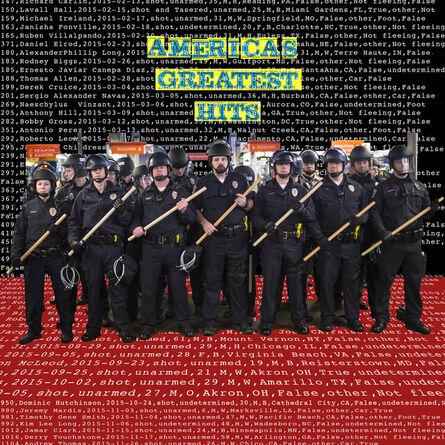 kennardphillipps, 'America's Greatest Hits (LP Vinyl and Record Sleeve)', 2018