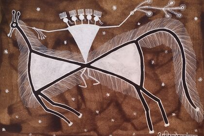 OF AESTHETICS & THE VERNACULAR...An insight into Warli art (Five artists )