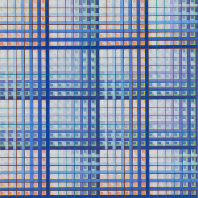 Rob de Oude, 'Checkered Match/2', 2021