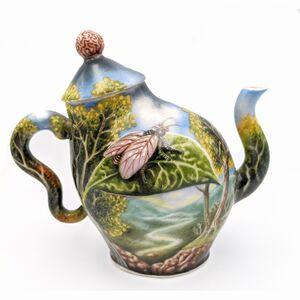 Kurt Weiser, 'Teapot - Floral Design ', 2010-2016