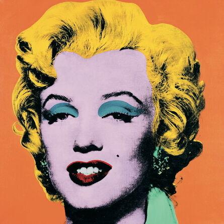 Andy Warhol, 'Marilyn Orange (Lg)', 1989