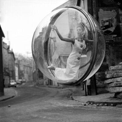 Melvin Sokolsky, 'Delvaux Empty Street, Paris', 1963