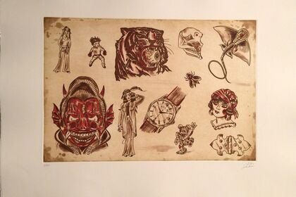 Dr. Lakra, Fine Etchings and Lithographs
