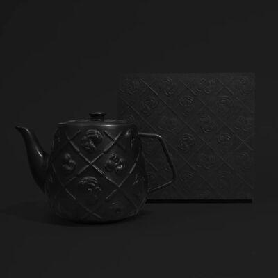 KAWS, 'Teapot (Black)', 2021
