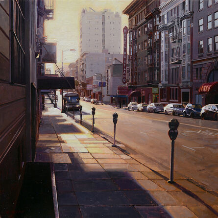 Greg Gandy, 'Sunrise on Geary Street', 2015