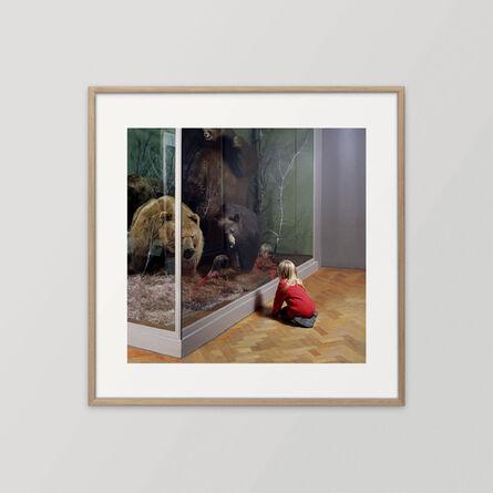 Wendy McMurdo, 'Girl with Bears, Royal Museum of Scotland Edinburgh', 1999