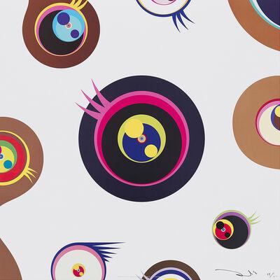 Takashi Murakami, 'Jellyfish Eyes - White 1 ', 2006