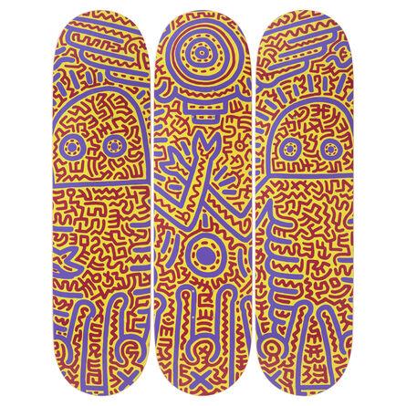 Keith Haring, 'Untitled (1984) Skateboard Decks', 2019