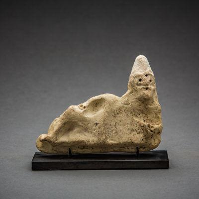 Near Eastern, 'Sumerian Terracotta Recumbant ', 3000 BCE-2000 BCE