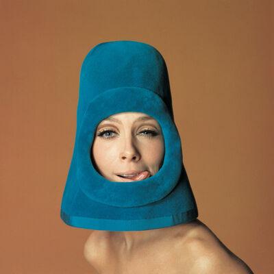 Jean-Daniel Lorieux, 'Olga, fashion by Pierre Cardin, Ragazza pop cover, Rome', 1972