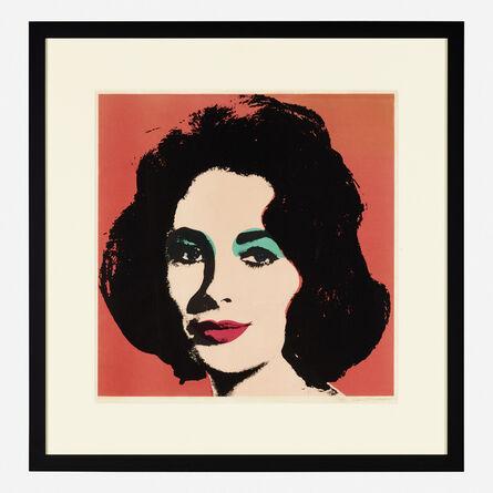 Andy Warhol, 'Liz Taylor', 1967