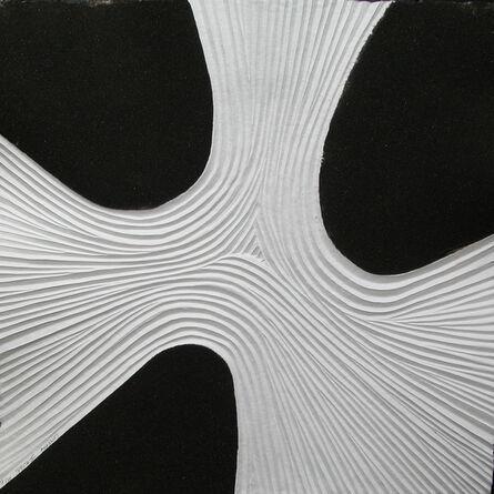 Bernard Alligand, 'Delta 2 - aquaprint on heavy handmade paper', 2017