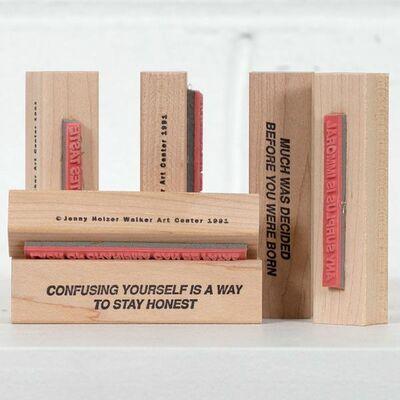 Jenny Holzer, 'Truisms Stamp Set', 1991