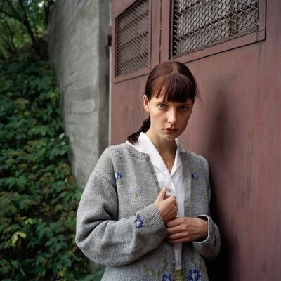 Aino Kannisto, 'Untitled (Red Metal Doors)', 1997