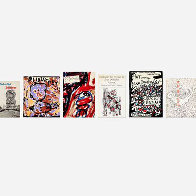 Jean Dubuffet, 'collection of twenty-five books', 1962-2014