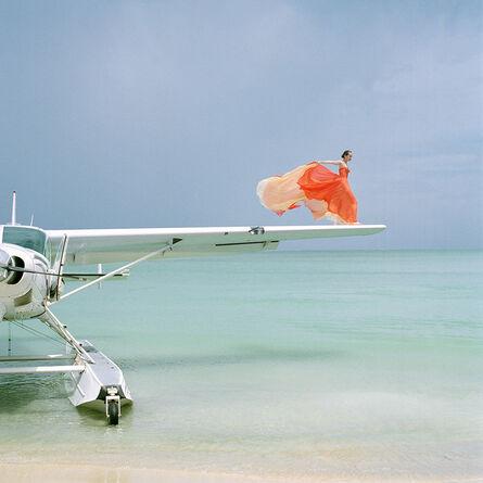 Rodney Smith, 'Saori on Sea Plane Wing, Dominican Republic', 2009