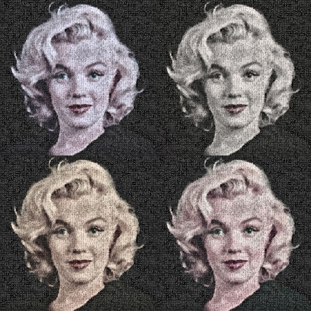 Robert Silvers, 'Forever Marilyn (Quad)', 2015