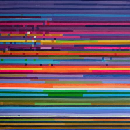 Ihosvanny Cisneros, 'Distortion, Horizontal Lines 1', 2018