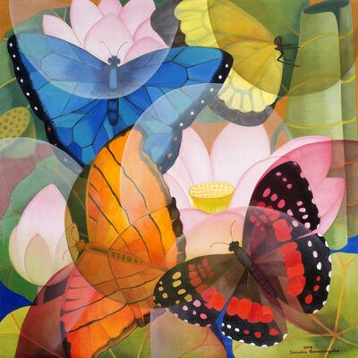 Senaka Senanayake, 'Lotus Butterflies', 2018