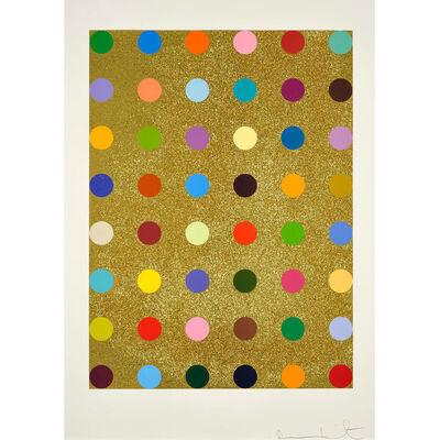 Damien Hirst, 'Damien Hirst, Aurous Iodide (with Gold Glitter)', 2009