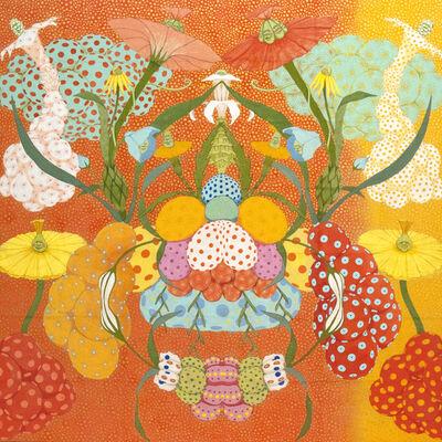 Mari Ito, 'Origen del deseo - Arcoíris naranja', 2018