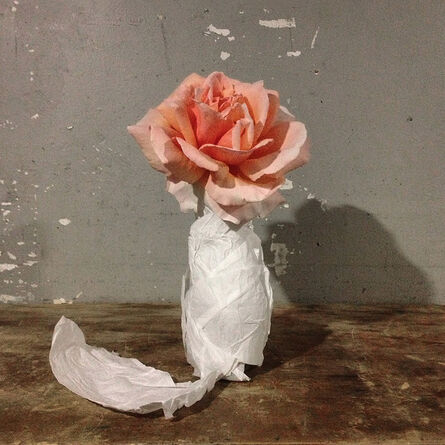 John Arsenault, 'Rose in a Bottle', 2013