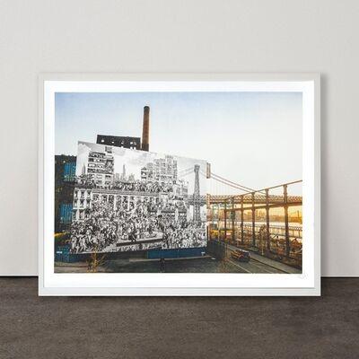 JR, 'The Chronicles of New York City, Domino Park, USA', 2020