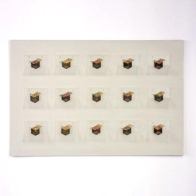 Jin-Sook So, 'Black 15 Boxes', 2016
