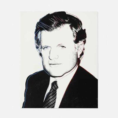 Andy Warhol, 'Andy Warhol 'Edward Kennedy' 1980 Screenprint ', 1980