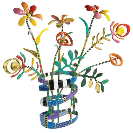Dorit Levinstein, '7 Flowers Vase', ca. 2014
