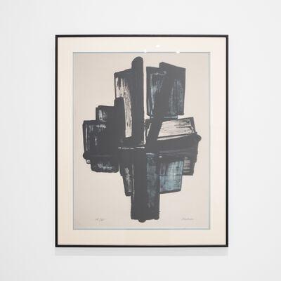 Pierre Soulages, 'Cross (Lithograph No 4)', 1957
