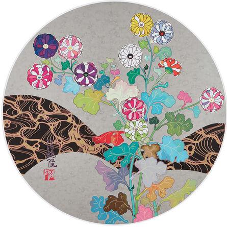 Takashi Murakami, 'Korin: Flower', 2014