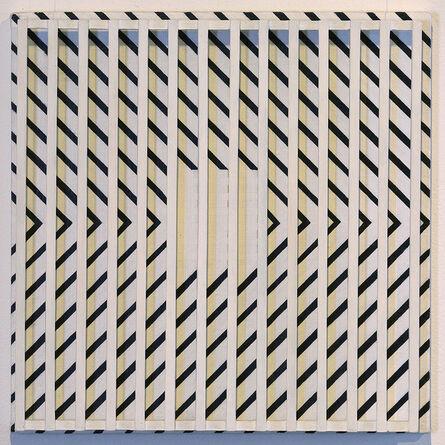 John Goodyear, 'Diagonals Over Yellow', 1995