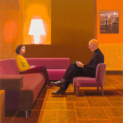 Hans Vandekerckhove, 'Self Portrait with my Daughter', 2020