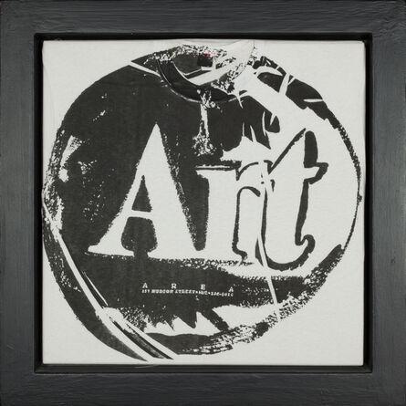 Andy Warhol, 'Art T-Shirt - black', 1980