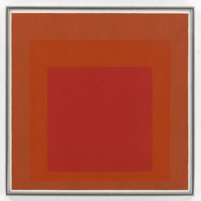 Josef Albers, 'Study for Homage to the Square', 1972
